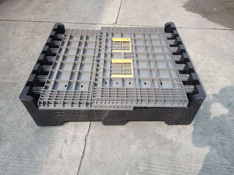 pallet pack collapsible bulk container