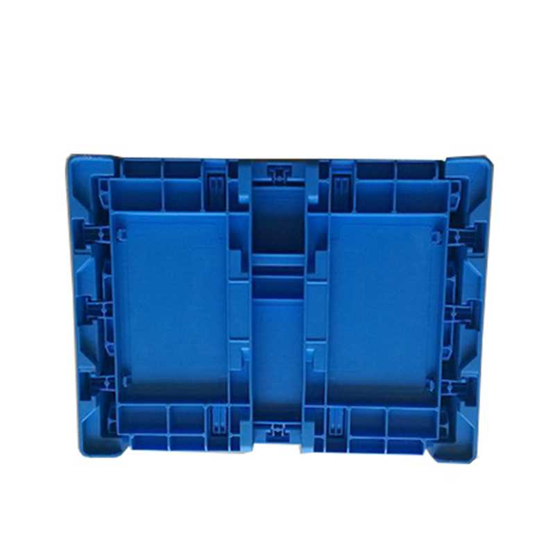 folding plastic pallet container